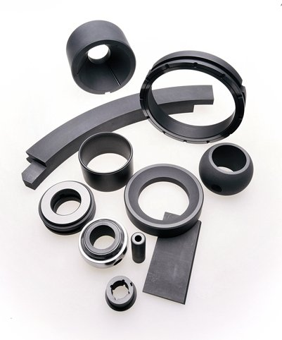 group of carbon graphite components