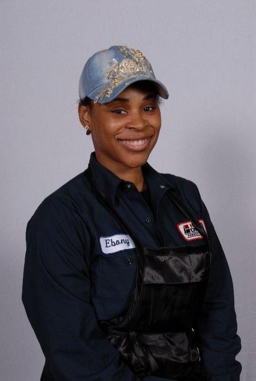 Ebony Scott, Associate II, Shop 3