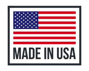 Made in USA logo, showing that our bearing protection kits are crafted in the USA, static grounding bearing