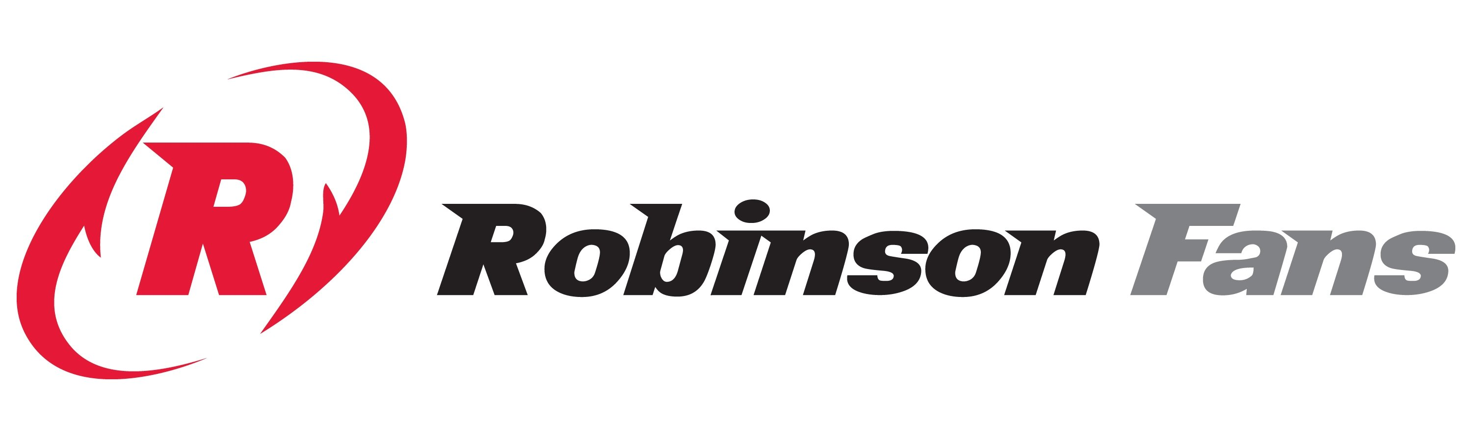 Robinson Fans logo, which uses Helwig Carbon's motor shaft grounding systems