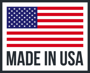 Made In USA icon and flag