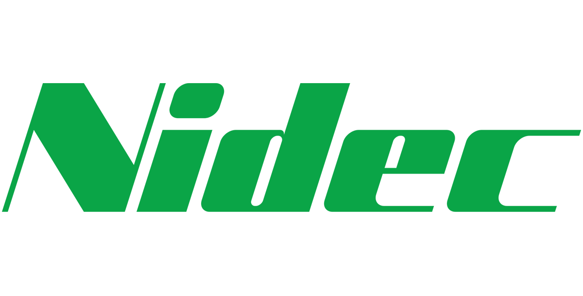 nidec logo, oem for motor shaft grounding solution from Helwig Carbon