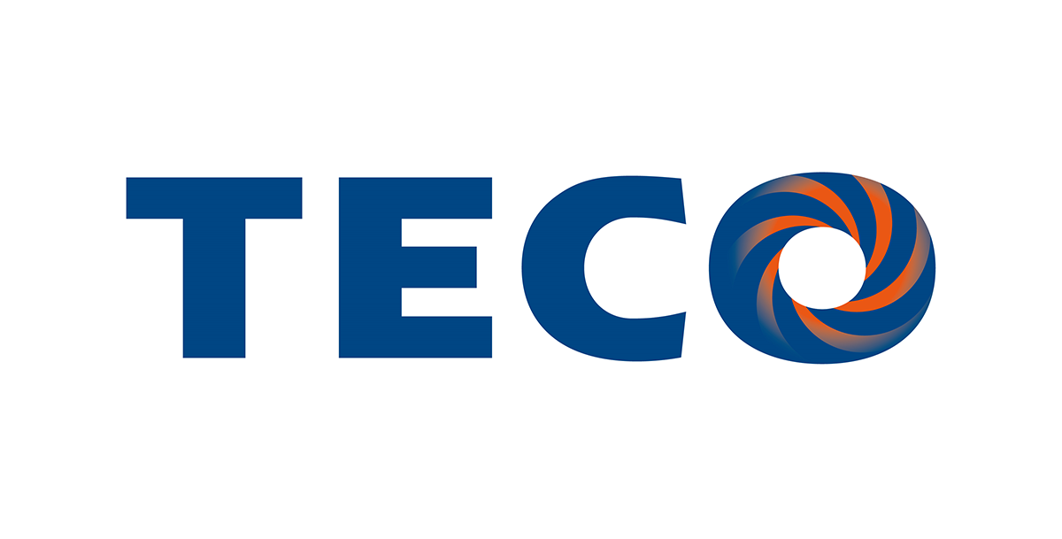 TECO logo, oem for motor shaft grounding solution from Helwig Carbon