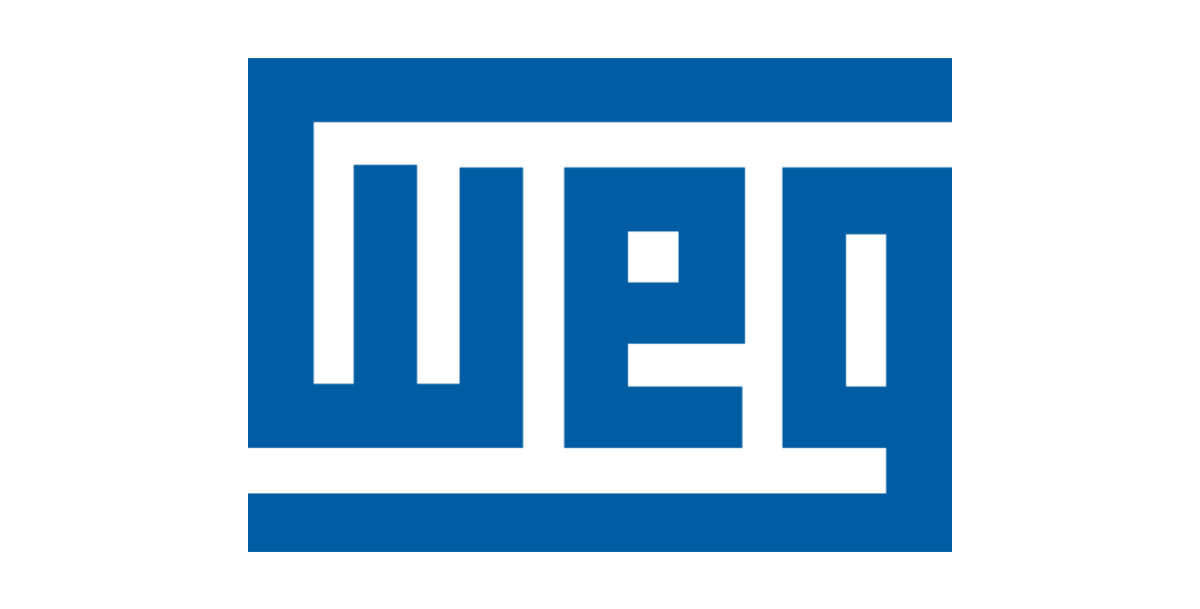 WEG logo, oem for motor shaft grounding solution from Helwig Carbon