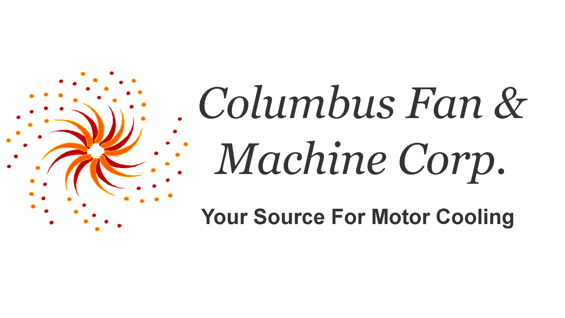 Columbus Fan & Machine Corp logo, a manufacturer that relies on Helwig's bearing protector