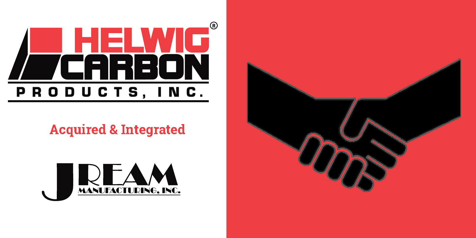 Helwig Carbon Products, Inc. is pleased to announce the acquisition and integration of the brush holder product line of J. Ream Manufacturing, Inc.