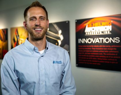 Kevin Koenitzer at Helwig Carbon