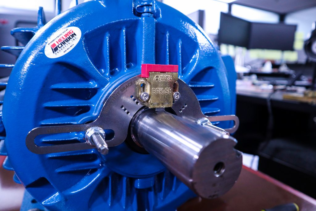 prevent VFD bearing failure with Helwig Carbon's shaft grounding solutions