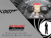 K007: Exclusive Silver Graphite Brush Grade
