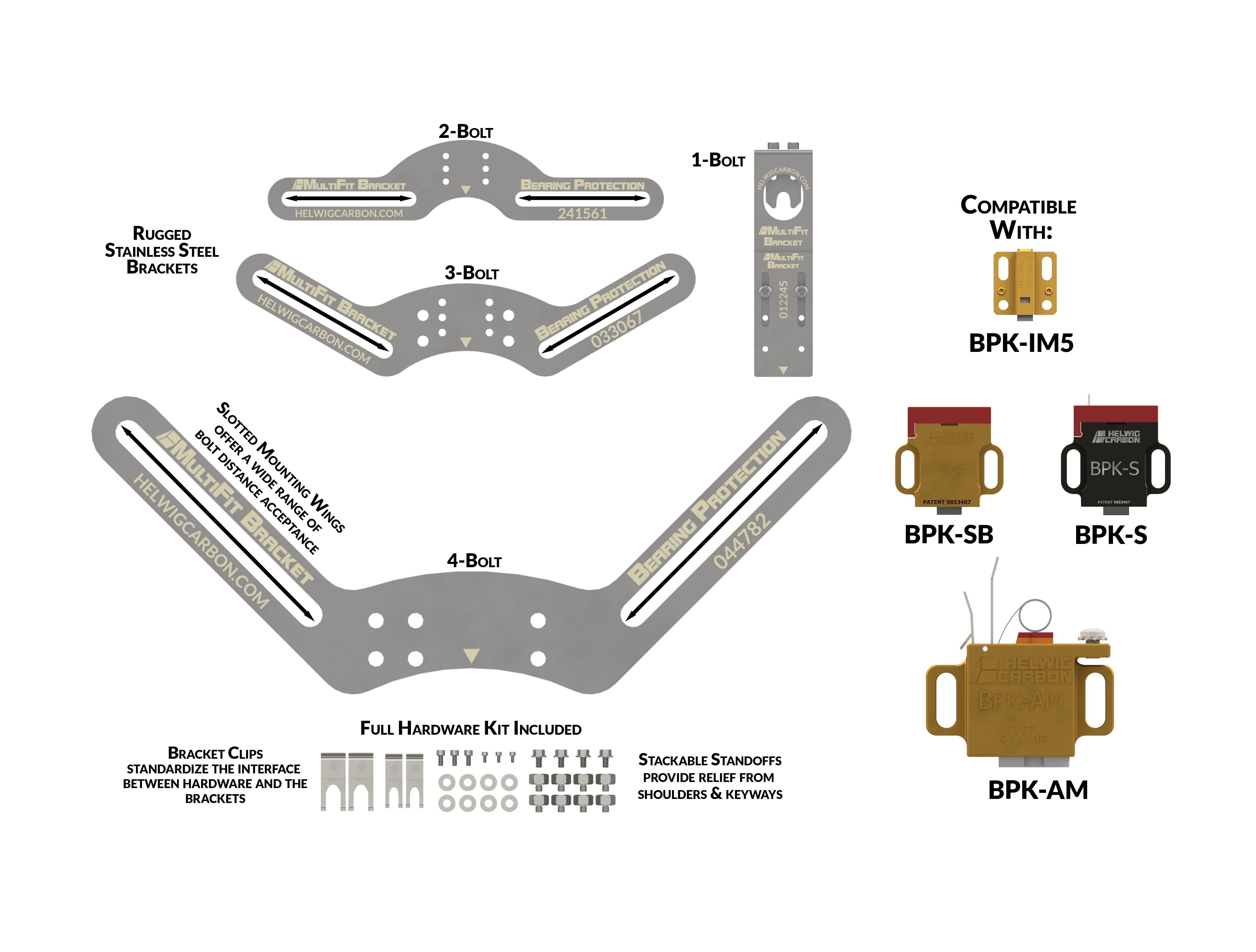graphic of MultiFit Brackets paired with BPKs - step 3