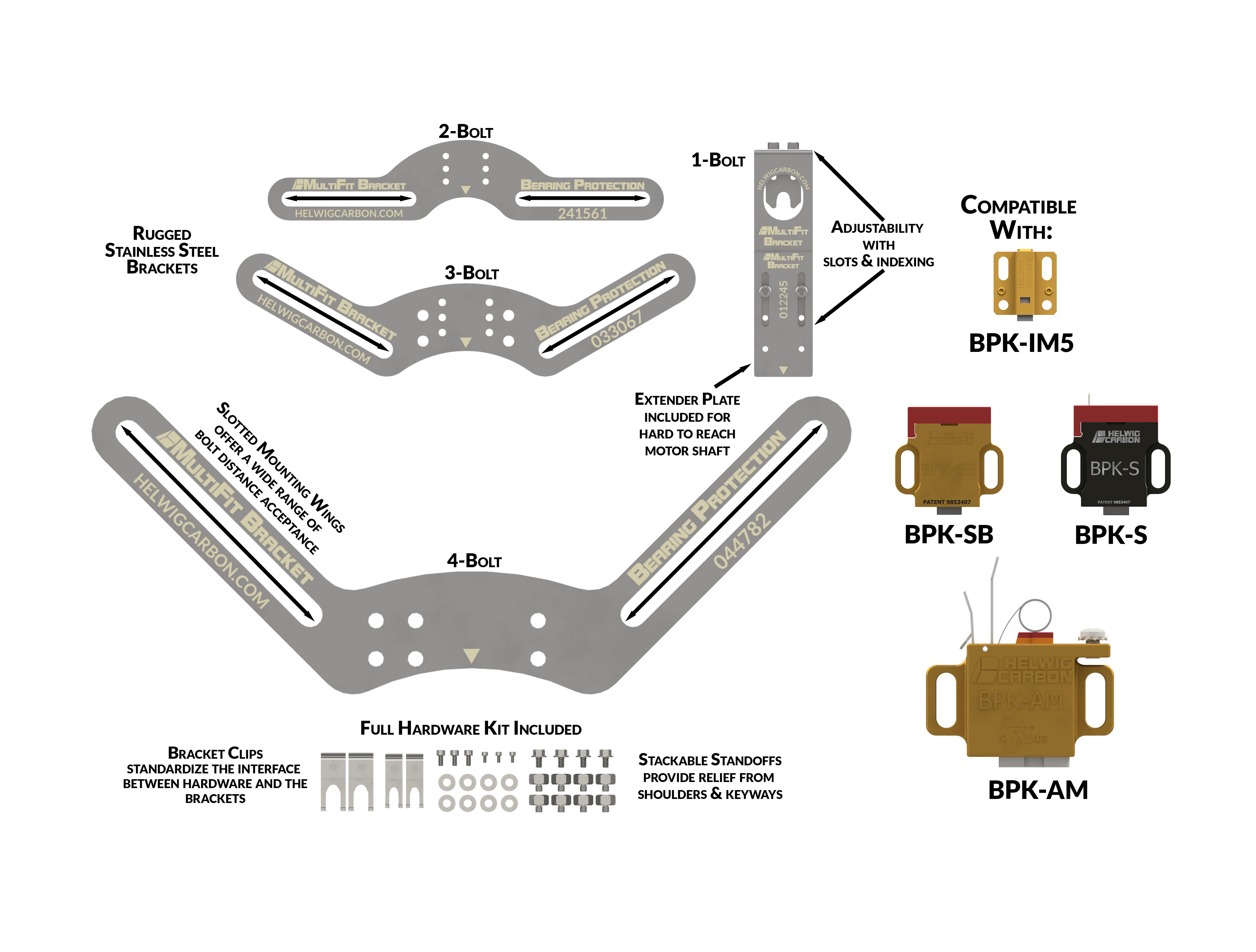 graphic of MultiFit Brackets paired with BPKs - step 4